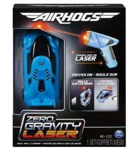 Air Hogs Zero Gravity Laser Guided Wall Climbing Remote Control Race Car Blue