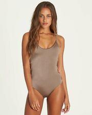 Billabong Juniors Sol Searcher Clay One Piece Swimsuit Size Medium