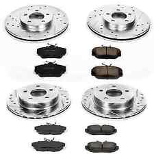 Power Stop K1325 Front Brake Kit with Drilled//Slotted Brake Rotors and Z23 Evolution Ceramic Brake Pads