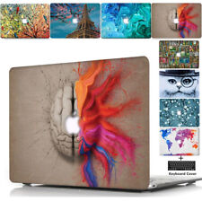 Fashion Laptop Hard Shell Case Keyboard Skin Cover For Apple Mac Book Macbook TT