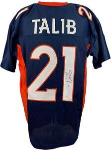 Aqib Talib Denver Broncos NFL Original Autographed Jerseys for ...