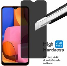 For Samsung Galaxy A20s Privacy Full-Body Tempered Glass Screen Protector Film