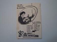 advertising Pubblicità 1956 CAFFETTIERA MOKA EXPRESS BIALETTI