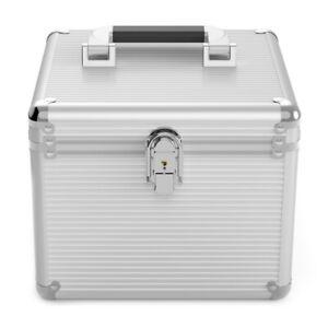 Orico Aluminium BSC35-10 10 Bay 2.5 & 3.5? Hard Drive Protection Box Case Silver