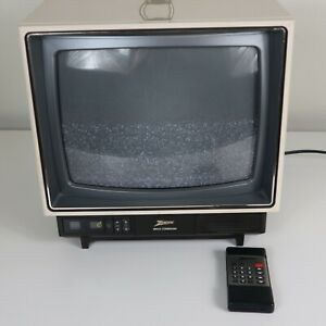 1988 Zenith space command TV 13 inch with remote control
