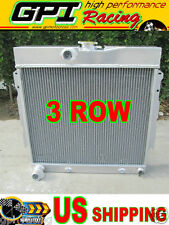 GPI 3ROW ALUMINUM RADIATOR FOR 63-69 DODGE DART/CHARGER/CORNET/FURY PLYMOUTH V8