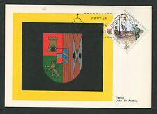 SPAIN MK 1971 WAPPEN SPANISCHE LEGION MAXIMUMKARTE MAXIMUM CARD MC CM c9140