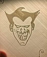"Poker Playing Card Deck Protector Bottom Protector: ""Batman Joker Image"""