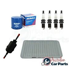 SERVICE KIT Mazda 2 DY 1.5l 2002-2007 OIL AIR & FUEL FILTER SPARK PLUGS
