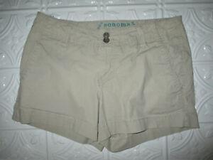 Sonoma Life + Style Women's Misses Modern Short Khaki Shorts, Size: 4