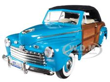 1946 FORD SPORTSMAN WOODY GREEN 1/18 DIECAST MODEL CAR BY ROAD SIGNATURE 20048