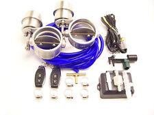 RSR Klappenauspuff 70mm Dual Unterdruck OFFEN + Fernbedienung 2,75 Klappensystem