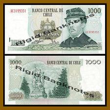 Chile 1000 Pesos, 2008 P-154g Unc