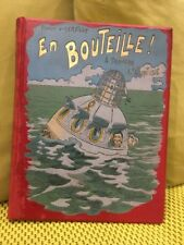 Livre ancien : EN BOUTEILLE A TRAVERS L'ATLANTIQUE - Ernest D'HERVILLY
