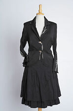 Black Skirt Suit - Tuzzi - Size 16-18 - Brand New With Tags