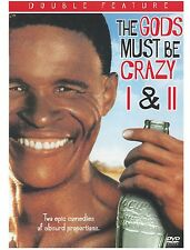 The Gods Must Be Crazy 1 and 2 (DVD, 2004, 2-Disc Set) I & II NEW