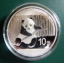 2014 China Panda 1 oz 999 Silver coin in plastic air-tite