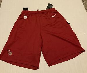 Nike Arizona Cardinals Dri-Fit Dry Shorts Coaches 2020 Men's Sz: 2XL Red NWT