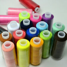 24 Assorted Colors 100% Polyester Sewing Quilting Threads All Purpose