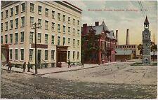 Corning Steuben County New York NY USA Dickinson House Square Post Card AK 1913