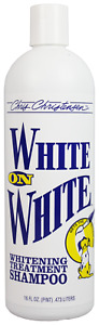 Chris Christensen Dog Grooming WHITE ON WHITE Shampoo 16oz