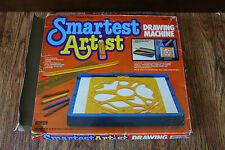 Vintage Smartest Artist Drawing Machine 1985 Marchon Stencils Ages 4 and up Rare
