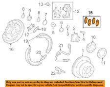 TOYOTA OEM Brake-Rear Pads 0446660160