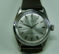 Rolex Mechanical (Hand-winding) Silver Strap Wristwatches
