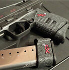 Talon Grips Springfield XDS 9mm & 45 Black Rubber Grip Wrap 207R Small Backstrap