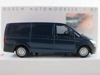 Busch 51107 Mercedes-Benz Vito Kastenwagen (2014) in blau 1:87/H0 NEU/OVP