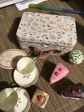 Maileg Miniature Cake set In Suitcase Cakes Cups Doll House Christmas Gift Kids