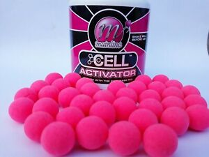 Mainline Cell pop ups Pink 15mm Carp Fishing Bait Mainline Hi-visual Cell pop up