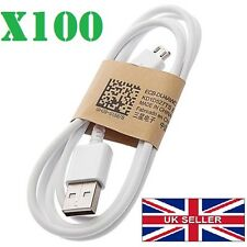 Wholesale Joblot Bulk Micro USB Data Sync Cable Charger Fits Samsung Nokia White