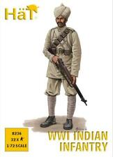 Sombreros WWI indio infantry- 1:72 figuras a escala KIT / GUERRA gaming- 8236