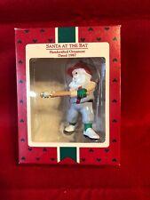 Hallmark Keepsake Ornament Santa at the Bat 1987 1-611