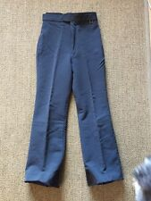 Vintage Roffe Womens Gray Ski Pants Ladies Solo 10 Regular Made in USA