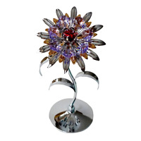 Crystocraft Flower Floral Crystal Ornament With Swarovski Elements Gift Boxed
