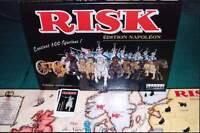 Jeu de société Risk Edition Napoléon - Conquête europe - 300 figurines ! - TBE