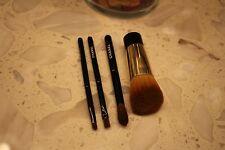 Chanel MINI brush set 100% authentic 4 pcs foundation blending smudge eyeliner