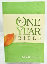 The One Year Bible NIV New International Version 365 Daily Readings Paperback