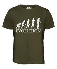 CLARINET PLAYER EVOLUTION OF MAN MENS T-SHIRT TEE TOP GIFT MUSICIAN