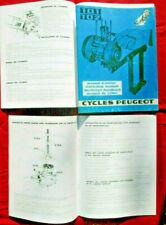 PEUGEOT cyclomoteur 101 .102  manuel d'atelier / workshop  manual .. de taller