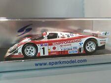 Spark 1/43 Toyota 94CV 2nd LeMans 1994 NIPPONDENSO SARD GroupC JSPC S1378 RARE!