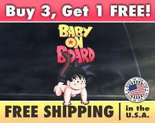 Goku Dragonball Z Baby on Board Bumper Sticker, Dragonball Z Bumper Sticker