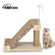 "19"" Cat Climbing Tree Scratching Tower Post Activity Center Condo Board ladder"