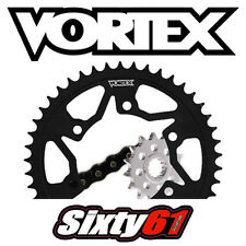 CBR 600RR 520 Chain Sprocket Kit Honda 2003-2006 Vortex Front Rear Steel Black