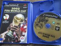 Playstation 2 ps2 2002 fifa world cup