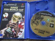 Playstation 2 ps2 2002 FIFA WORLD CUP