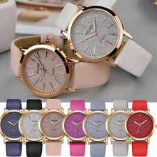 Women Ladies Casual Quartz Leather Band Starry Sky Watch Analog Wrist Watches US