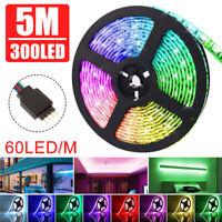 USB 5M 300LED 3528 RGB LED Strip Light KTV Hotel Bar TV Background DC12V